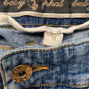 Baby phat vintage Capri Jeans size 11